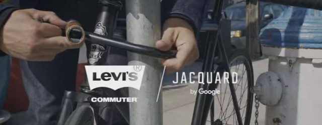 Eine smarte Hightech Jacke unter den Namen Levi's Commuter x Jacquard by Google Trucker Jacket